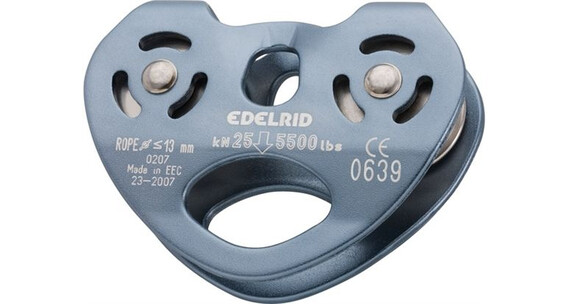 Edelrid Rail double pulley titan (073)